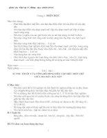 Giáo án vật lý 9 hai cột