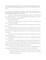 GIẢI PHÁP KIẾN NGHỊ NÂNG CAO CHẤT LƯỢNG THẨM ĐỊNH DỰ ÁN ĐẦU TƯ TẠI SỞ  GIAO DỊCH I NGÂN HÀNG NÔNG NGHIỆP VÀ PHÁT TRIỂN NÔNG THÔN VIỆT NAM