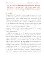 MỘT SỐ Ý KIẾN NHẰM HOÀN THIỆN CÔNG TÁC  KẾ TOÁN BÁN HÀNG VÀ XÁC ĐỊNH KẾT QUẢ BÁN HÀNG TẠI CÔNG TY CỔ PHẦN ĐẦU TƯ XÂY DỰNG VÀ THƯƠNG MẠI QUỐC TẾ