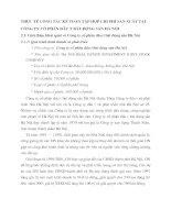 THỰC TẾ CÔNG TÁC KẾ TOÁN TẬP HỢP CHI PHÍ SẢN XUẤT TẠI CÔNG TY CỔ PHẦN ĐẦU TƯ BẤT ĐỘNG SẢN HÀ NỘI