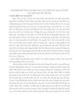 GIẢI PHÁP ĐỂ NÂNG CAO HIỆU QUẢ CỦA CÔNG TÁC QUẢN LÝ ĐẤT ĐAI TRÊN ĐỊA BÀN HÀ NỘI