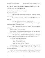 MỘT SỐ GIẢI PHÁP NHẰM HOÀN THIỆN HỆ THỐNG QUẢN TRỊ CHẤT LƯỢNG TẠI CÔNG TY MAY 10