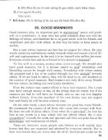 136 Best Models Essays - Good manners