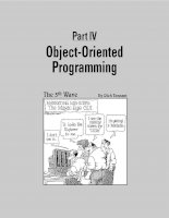 Object-Oriented Programming - What's It All About