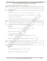 Tuyển tập các dạng bài tập hình học phẳng phục vụ ôn thi đại hoc 2013