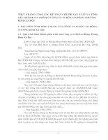 THỰC TRẠNG CÔNG TÁC KẾ TOÁN CHI PHÍ SẢN XUẤT VÀ TÍNH GIÁ THÀNH SẢN PHẨM Ở CÔNG TY IN BỘ LAO ĐỘNG-THƯƠNG BINH-XÃ HỘI