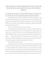 MỘT SỐ GIẢI PHÁP VÀ KIẾN NGHỊ NHẰM NGĂN NGỪA VÀ HẠN CHẾ RỦI RO TÍN DỤNG TẠI CHI NHÁNH NGÂN HÀNG CÔNG THƯƠNG ĐỐNG ĐA