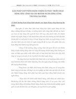 GIẢI PHÁP GÓP PHẦN HOÀN THIỆN VÀ PHÁT TRIỂN HOẠT ĐỘNG BẢO LÃNH TẠI CHI NHÁNH NGÂN HÀNG CÔNG THƯƠNG BA ĐÌNH