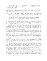 BÁO CÁO THỰC TẬP TẠI CÔNG TY CỔ PHẦN XÂY DỰNG SỐ 2 THĂNG LONG