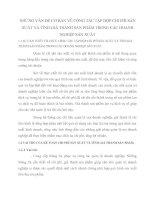 NHỮNG VẤN ĐỀ CƠ BẢN VỀ CÔNG TÁC TẬP HỢP CHI PHÍ SẢN XUẤT VÀ TÍNH GIÁ THÀNH SẢN PHẨM TRONG CÁC DOANH NGHIỆP SẢN XUẤT