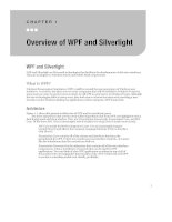 Overview of WPF and Silverlight