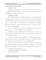 Bài giảng Môn: Nguyên lý kế toán 1