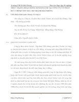 THỰC TRẠNG HOẠT ĐỘNG KINH DOANH TẠI CÔNG TY CỔ PHẦN BƯU CHÍNH VIETTEL CHI NHÁNH HẢI PHÒNG