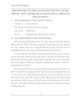 TÌNH HÌNH THỰC TẾ CÔNG TÁC KẾ TOÁN NGUYÊN VẬT LIỆU VỚI VIỆC NÂNG CAO HIỆU QUẢ SỬ DỤNG VỐN LƯU ĐỘNG TẠI CÔNG TY DỆT 8-3