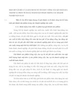 MỘT SỐ VẤN ĐỀ LÝ LUẬN CHUNG VỀ TỔ CHỨC CÔNG TÁC KẾ TOÁN GIÁ THÀNH VÀ PHÂN TÍCH GIÁ THÀNH SẢN PHẨM TRONG CÁC DOANH NGHIỆP SẢN XUẤT