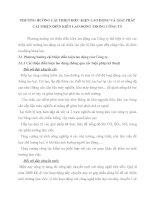 PHƯƠNG HƯỚNG CẢI THIỆN ĐIỀU KIỆN LAO ĐỘNG VÀ GIẢI PHÁP CẢI THIỆN ĐIỀN KIÊN LAO ĐỘNG TRONG CÔNG TY