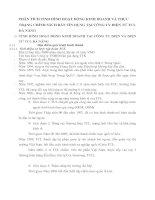 PHÂN TÍCH TÌNH HÌNH HOẠT ĐỘNG KINH DOANH VÀ THỰC TRẠNG CHÍNH SÁCH BÁN TÍN DỤNG TẠI CÔNG TY ĐIỆN TỬ TCL ĐÀ NẴNG