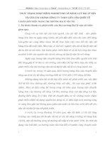 THỰC TRẠNG HOẠT ĐỘNG MARKETING VÀ NĂNG LỰC ĐẠI LÝ VẬN TẢI CỦA CHI NHÁNH CÔNG TY TNHH LIÊN VẬN QUỐC TẾ