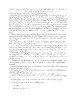 GIẢI PHÁP NÂNG CAO HIỆU QUẢ SXKD Ở CÔNG TY CỔ PHẦN LẮP MÁY ĐIỆN NƯỚC VÀ XÂY DỰNG