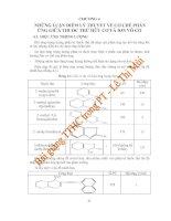 Những luận điểm lý thuyết về cơ chế phản ứng giữa thuốc thử hữu cơ và ion vô cơ