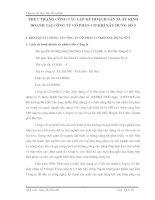 THỰC TRẠNG CÔNG TÁC LẬP KẾ HOẠCH SẢN XUẤT KINH DOANH TẠI CÔNG TY CỔ PHẦN CƠ KHÍ XÂY DỰNG SỐ 5