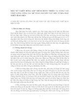 MỘT SỐ Ý KIẾN ĐÓNG GÓP NHẰM HOÀN THIIỆN VÀ NÂNG CAO CHẤT LƯỢNG CÔNG TÁC KẾ TOÁN NGUYÊN VẬT LIỆU Ở NHÀ MÁY THIẾT BỊ BƯU ĐIỆN