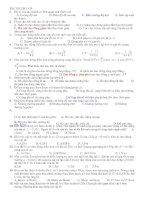 60 câu TN on thi HK I ly 12 có đáp án