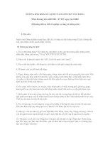 HƯỚNG DẪN KHAI LÝ LỊCH CỦA NGƯỜI XIN VÀO ĐẢNG