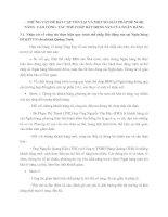 NHỮNG VẤN ĐỀ BẤT CẬP TỒN TẠI VÀ MỘT SỐ GIẢI PHÁP ĐỀ NGHỊ NÂNG  CAO CÔNG  TÁC THẾ CHẤP BẤT ĐỘNG SẢN CỦA NGÂN HÀNG