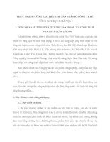THỰC TRẠNG CÔNG TÁC TIÊU THỤ SẢN PHẨM Ở CÔNG TY BÊ TÔNG XÂY DỰNG HÀ NỘI
