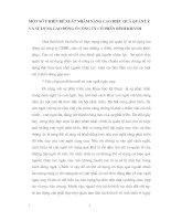 MỘT SỐ Ý KIẾN ĐỀ XUẤT NHẰM NÂNG CAO HIỆU QUẢ QUẢN LÝ VÀ SỬ DỤNG LAO ĐỘNG Ở CÔNG TY CỔ PHẦN BÌNH KHÁNH