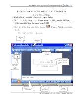 Tài liệu tập huấn soạn giáo án điện tử bằng Power Point