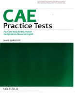 Sách CAE Practice Tests phần 1
