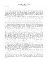 Bài phát biểu của Lãnh đạo nhà trường nhân ngày Nhà Giáo Việt Nam 20-11