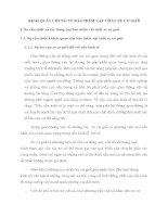 KHÁI QUÁT CHUNG VỀ BẢO HIỂM VẬT CHẤT XE CƠ GIỚI