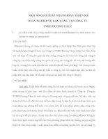 MỘT SỐ GIẢI PHÁP NHẰM HOÀN THIỆN KẾ TOÁN NGHIỆP VỤ BÁN HÀNG TẠI CÔNG TY TNHH HƯƠNG THUỶ