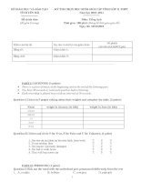 Đề thi HSG-Tiếng Anh lop 11 (2010-2011)