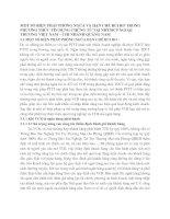 MỘT SỐ BIỆN PHÁP PHÒNG NGỪA VÀ HẠN CHẾ RỦI RO TRONG PHƯƠNG THỨC TÍN DỤNG CHỨNG TỪ TẠI NHTMCP NGOẠI THƯƠNG VIỆT NAM