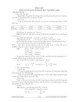 MỘT SỐ PP GIẢI NHANH BÀI TẬP HÓA HỌC_20