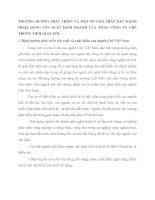 PHƯƠNG HƯỚNG PHÁT TRIỂN VÀ MỘT SỐ GIẢI PHÁP ĐẨY MẠNH HOẠT ĐỘNG SẢN XUẤT KINH DOANH CỦA TỔNG CÔNG TY CHÈ TRONG THỜI GIAN TỚI