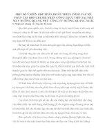 MỘT SỐ Ý KIẾN GÓP PHẦN HOÀN THIỆN CÔNG TÁC KẾ TOÁN TẬP HỢP CHI PHÍ NHÂN CÔNG TRỰC TIẾP TẠI NHÀ MÁY ĐƯỜNG QUẢNG PHÚ  CÔNG TY ĐƯỜNG QUẢNG NGÃI