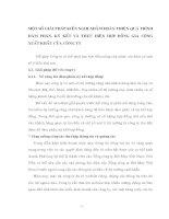 MỘT SỐ GIẢI PHÁP KIẾN NGHỊ NHẰM HOÀN THIỆN QUÁ TRÌNH ĐÀM PHÁN, KÝ KẾT VÀ THỰC HIỆN HỢP ĐỒNG GIA CÔNG XUẤT NHẬP KHẨU CỦA CÔNG TY
