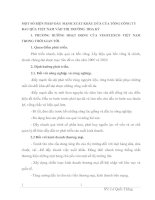 MỘT SỐ BIỆN PHÁP ĐẨY MẠNH XUẤT KHẨU DỨA CỦA TỔNG CÔNG TY  RAU QỦA VIỆT NAM VÀO THỊ TRƯỜNG  HOA KỲ