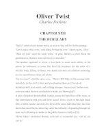 LUYỆN ĐỌC TIẾNG ANH QUA TÁC PHẨM VĂN HỌC-Oliver Twist -Charles Dickens -CHAPTER 22