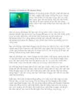 Backup và Restore Windows Vista