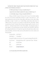 ĐÁNH GIÁ THỰC TRẠNG ĐÀO TẠO NGUỒN NHÂN LỰC TẠI CÔNG TY CỔ PHẦN LICOGI 13
