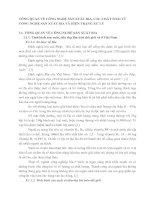 TỔNG QUAN VỀ CÔNG NGHỆ SẢN XUẤT BIA, CÁC CHẤT THẢI TỪ CÔNG NGHỆ SẢN XUẤT BIA VÀ HIỆN TRẠNG XỬ LÝ