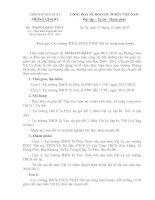 Công văn hướng dẫn thực hiện chuyên đề Vật lý