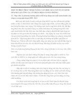 MỘT SỐ BIỆN PHÁP NHẰM NÂNG CAO HIỆU QUẢ SẢN XUẤT KINH DOANH TẠI CÔNG TY CỔ PHẦN ĐIỆN CƠ HẢI PHÒNG