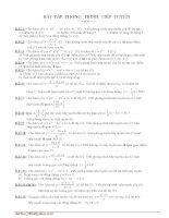 Chuên đề K/sát h/số - Tiếp tuyến của đường cong